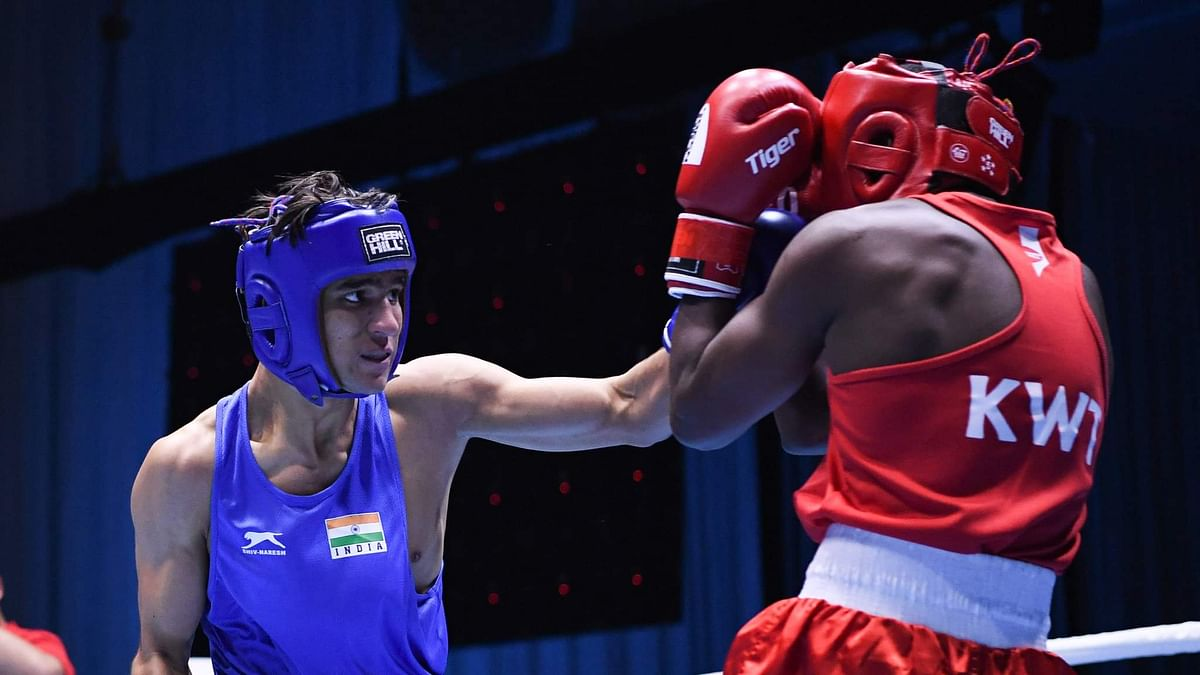Indian pugilists dominate the ring, assured of four more medals in ASBC Youth & Junior Boxing Championships