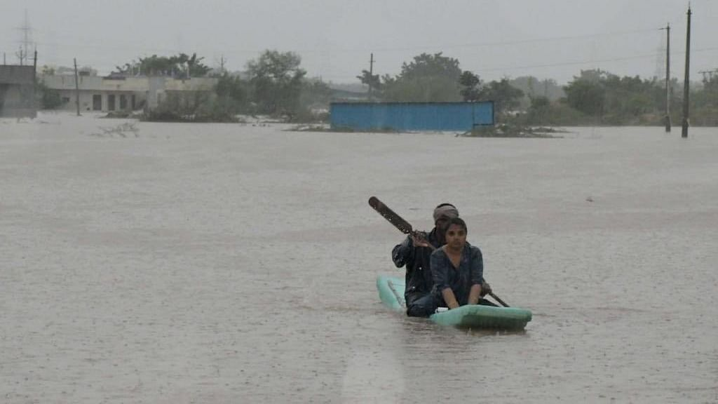 Five, including bride, washed away in flooded streams in Telangana