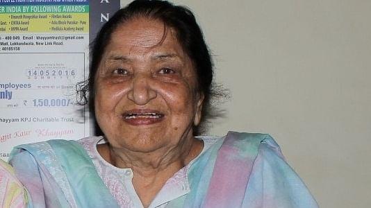 Playback singer Jagjit Kaur, widow of Khayyam, dies at 93
