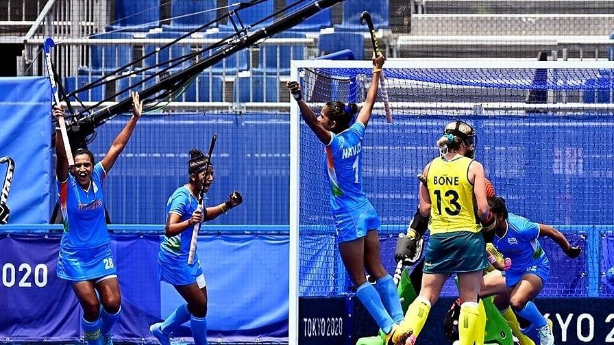 Olympics: India beat Australia 1-0, storm into women's hockey semi-finals