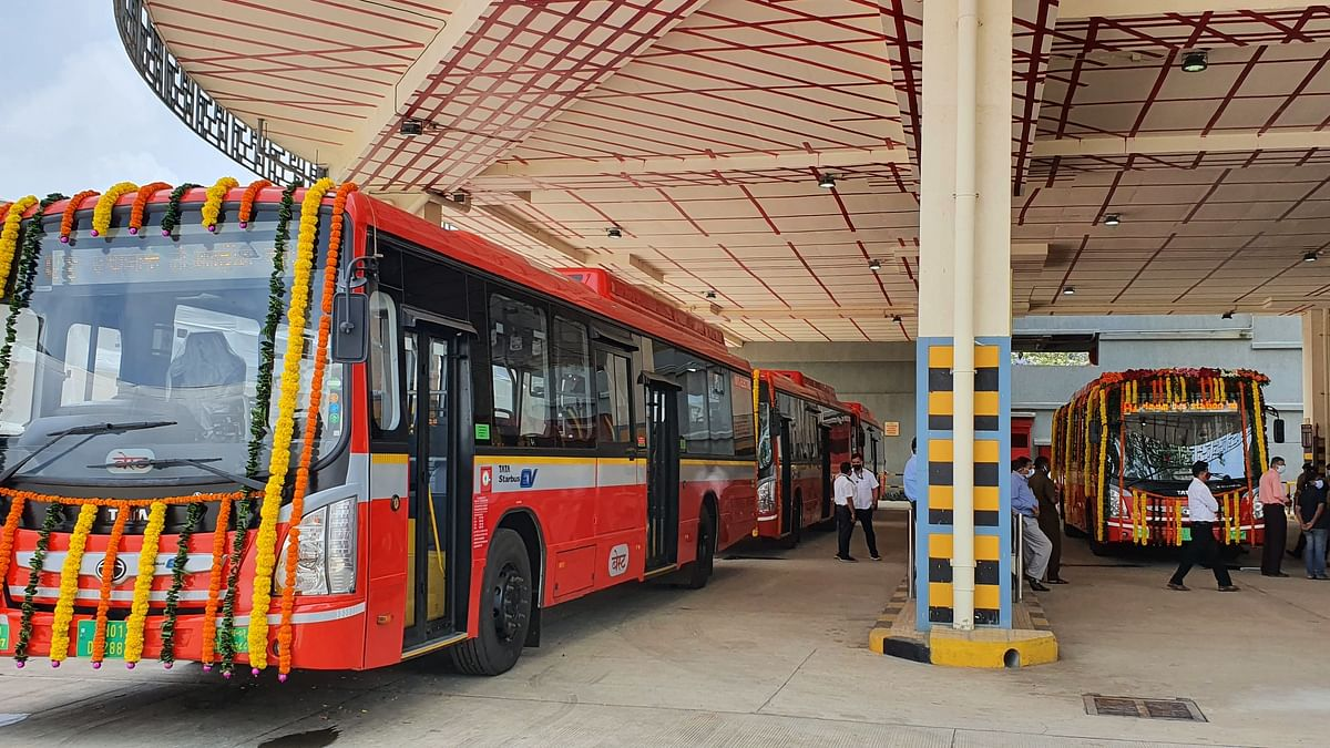 Tata Motors delivers 35 electric buses to BEST as part of a larger order of 340 e-buses