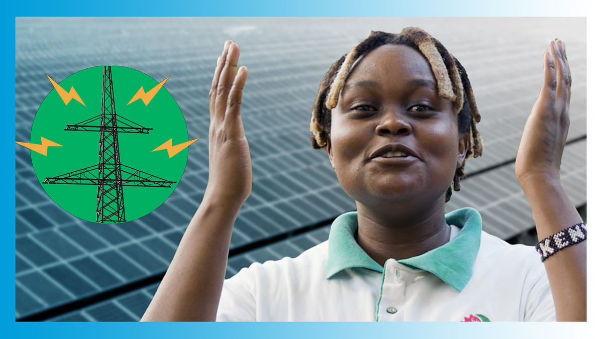 Powered by green energy: Paris Climate Agreement