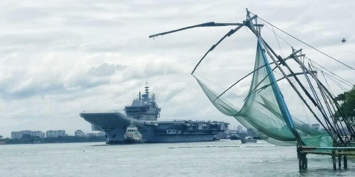 Indigenous aircraft carrier Vikrant begins sea trials