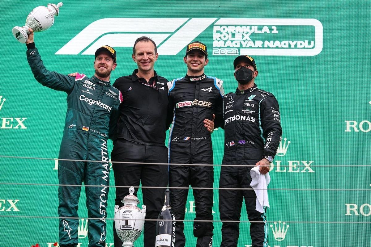 Hamilton retakes F1 lead as Ocon takes shock Hungarian GP win