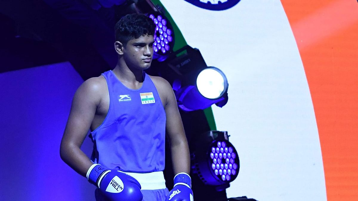 Muskan, Rohit Chamoli, Bharat Joon in the finals at ASBC Asian Junior Boxing Championships