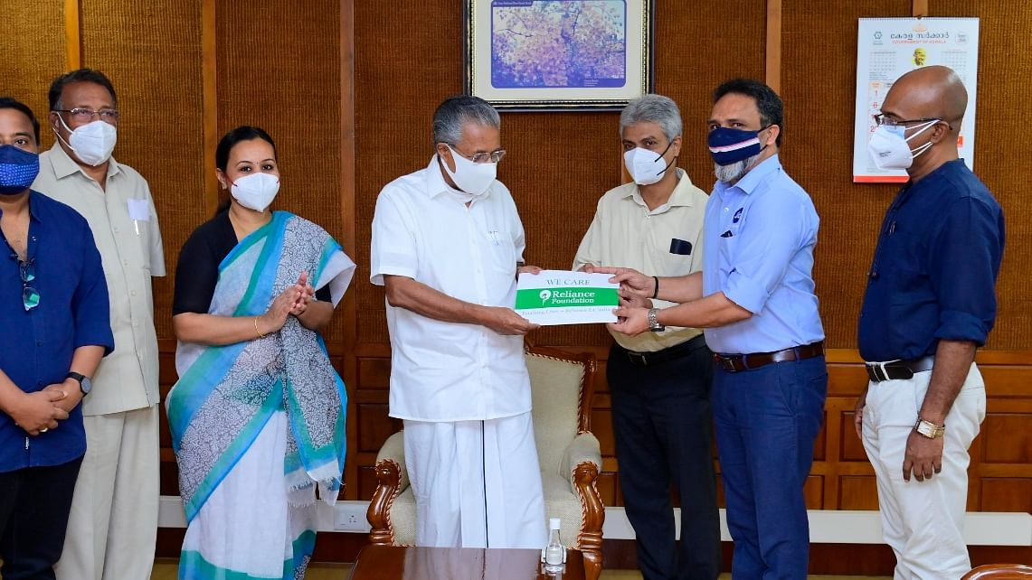 Reliance Foundation provides 2.5 lakh COVID-19 vaccine doses free to Kerala government