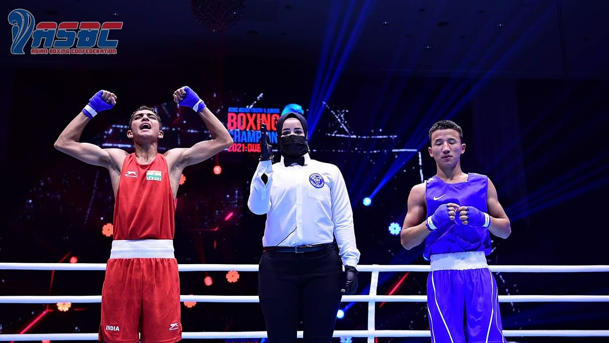 Rohit and Bharat clinch a gold  each, Gaurav settles for silver at Asian Junior Boxing Championships