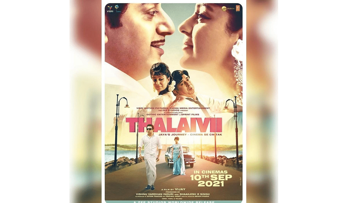 Kangana Ranaut's 'Thalaivii' to see theatrical release on September 10