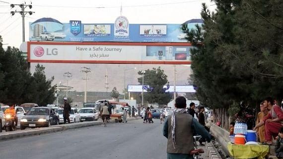 Blast reported near Kabul airport