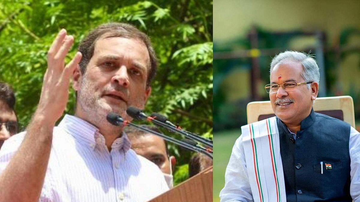 Baghel, Deo met Rahul Gandhi; no discussion on leadership change in Chhattisgarh