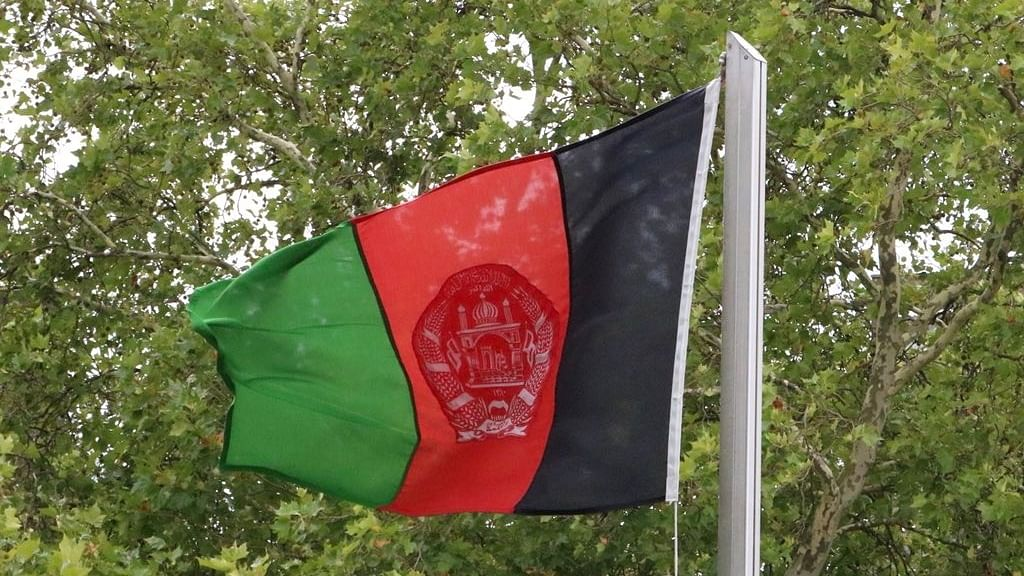Taliban open fire as hundreds of Afghans take to the streets to support national flag