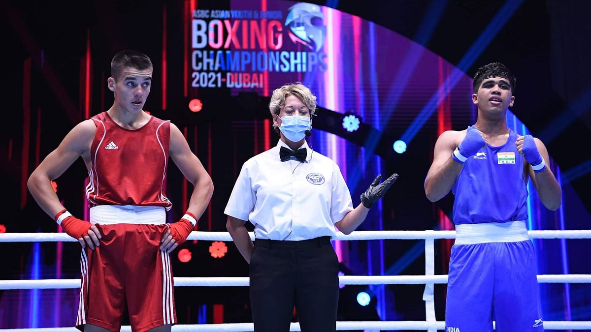 Gaurav Saini storms into final; Rohit, Ankush in semis in the ASBC Asian Youth & Junior Boxing Championships