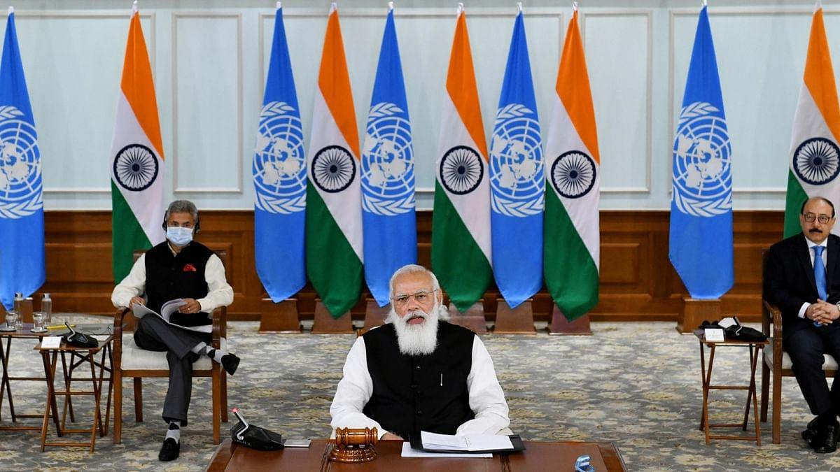 At UNSC meet, Modi's five principles for maritime security get backing