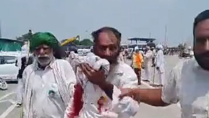 Haryana farmers block highways to protest police action
