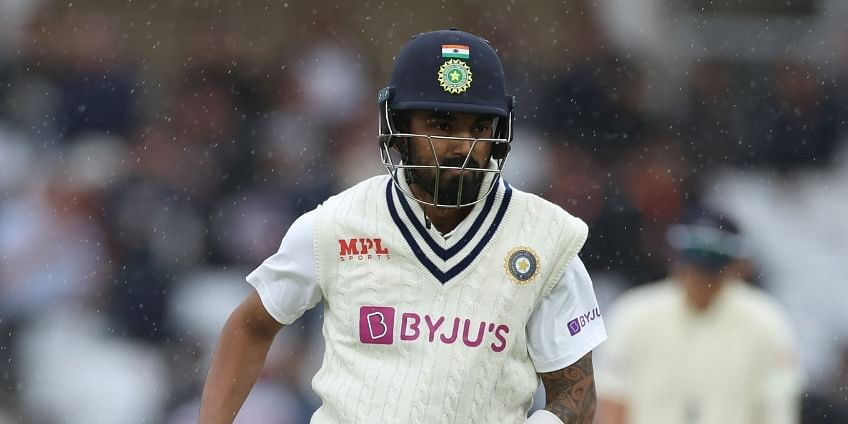 1st Test: Anderson strikes twice as India end rain-hit Day 2 at 125/4