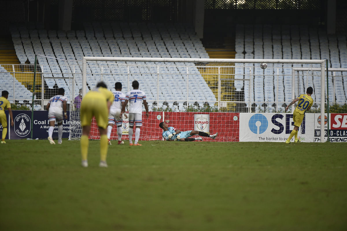 Durand Cup: Luna penalty enables Kerala Blasters to beat Indian Navy