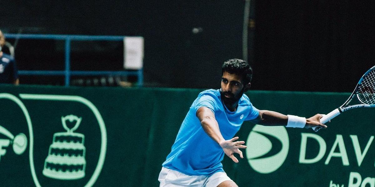 Davis Cup: Prajnesh wins lone consolation as India go down 1-3