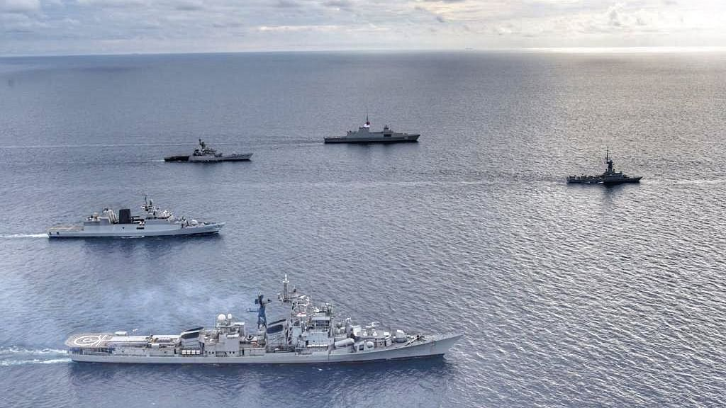 Singapore-India maritime bilateral exercise concludes in South China Sea
