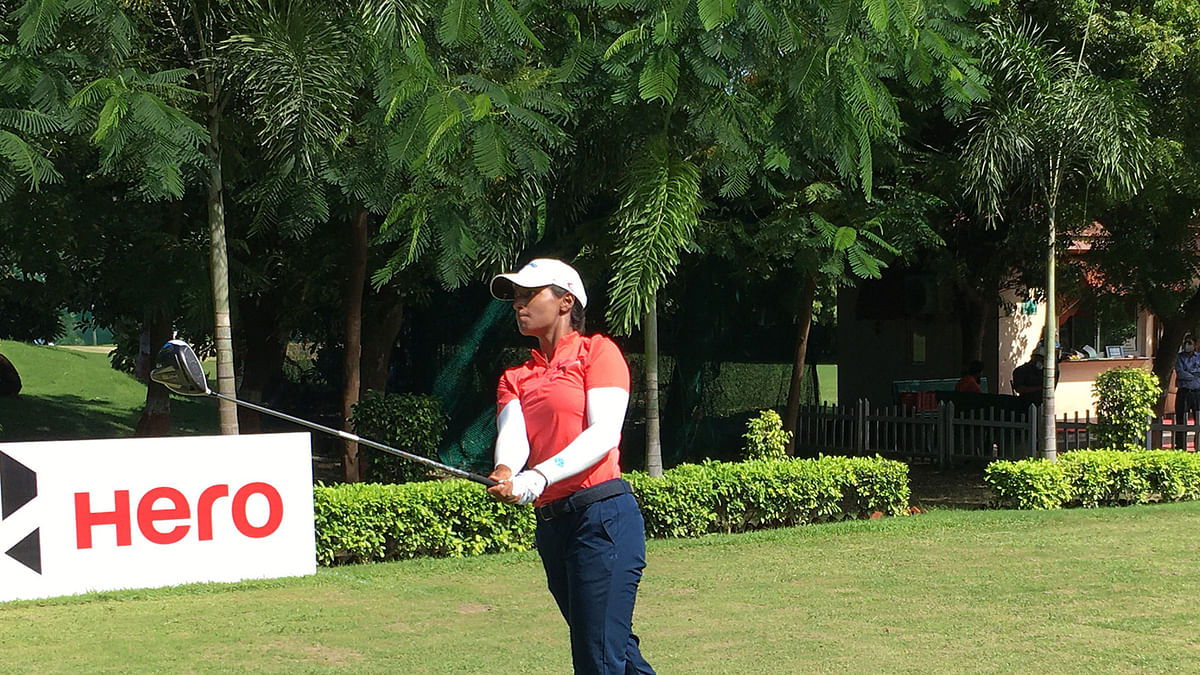 Lakhmehar emerges sole leader, as fancied players struggle in first round of 9th leg of Hero WPGT