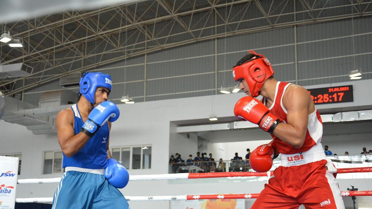 Rohit stuns Hussamuddin, SSCB  retains national boxing team championship