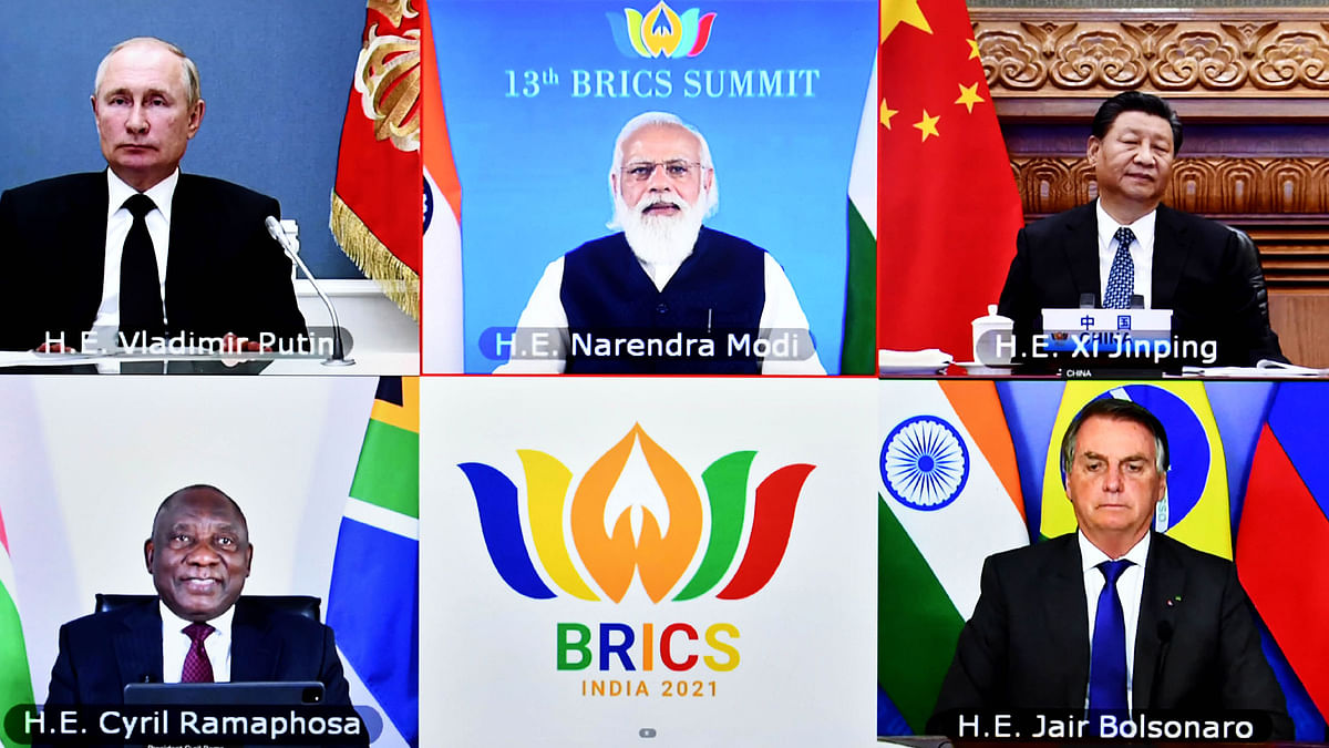 BRICS Summit calls for peaceful settlement of Afghanistan situation