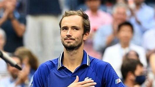 Medvedev lifts US Open trophy, denies Djokovic calendar Grand Slam