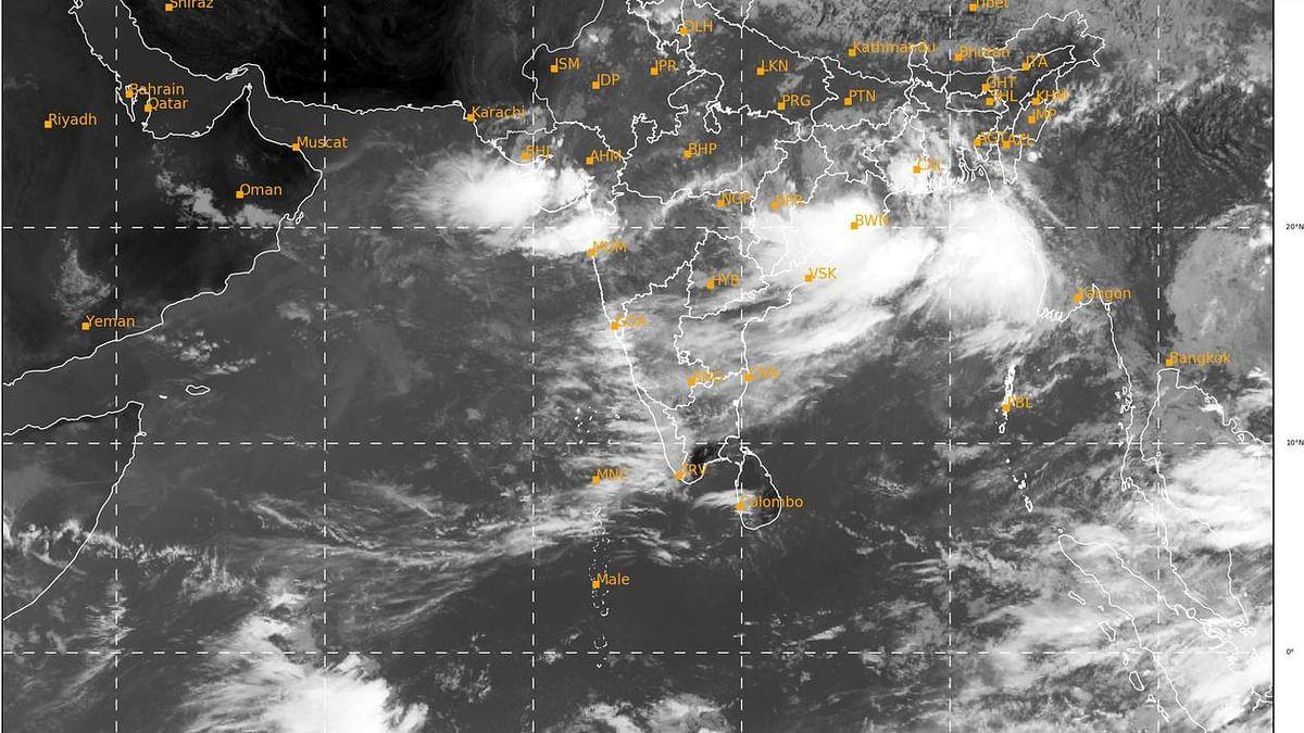 Heavy rainfall in Odisha, alert for Chhattisgarh, MP, too