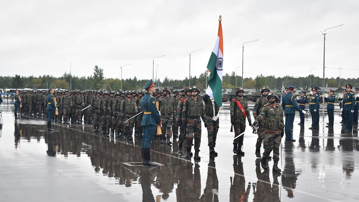 India, 8 other countries participating in Exercise Zapad 2021 in Russia