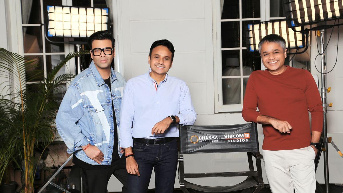 Viacom18 Studios and Dharma Productions partner for a slate of Hindi films