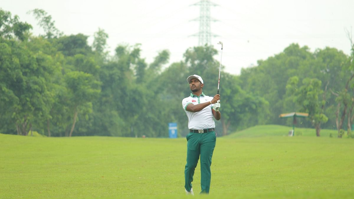 Golf: Chikkarangappa shoots final round of 65 to emerge victorious by two shots