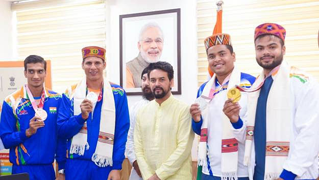 Target Olympic Podium Scheme  will be strengthened to extend  greater support to athletes: Anurag Thakur