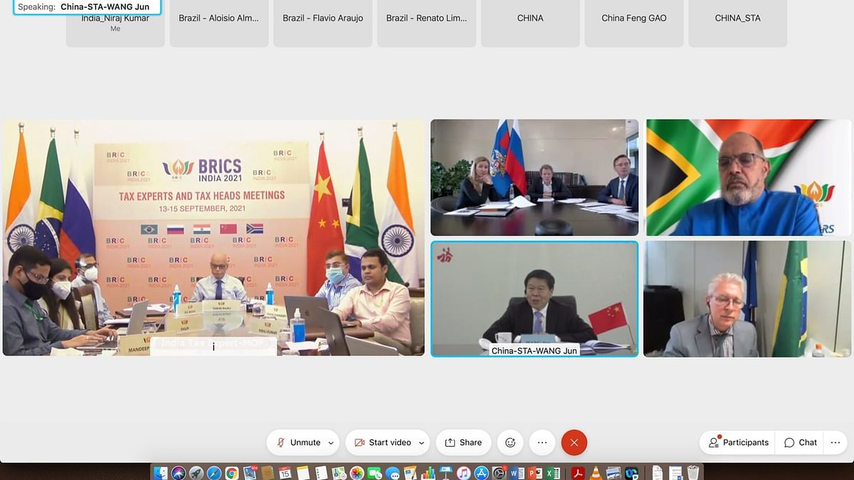 India chairs virtual meeting of BRICS Heads of Tax Authorities and experts on tax matters