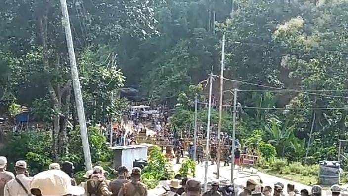 Fresh troubles along Assam-Mizoram border over roads, camps