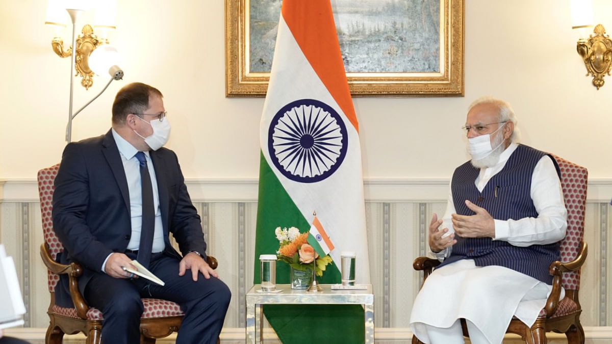 Modi meets with Qualcomm CEO to highlight hi-tech opportunities