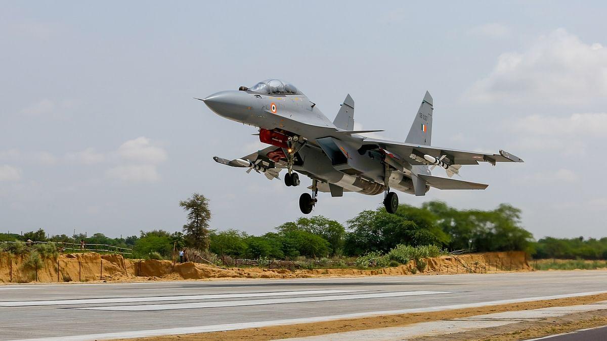 Rajnath, Gadkari inaugurate emergency landing facility for Indian Air Force in Barmer, Rajasthan