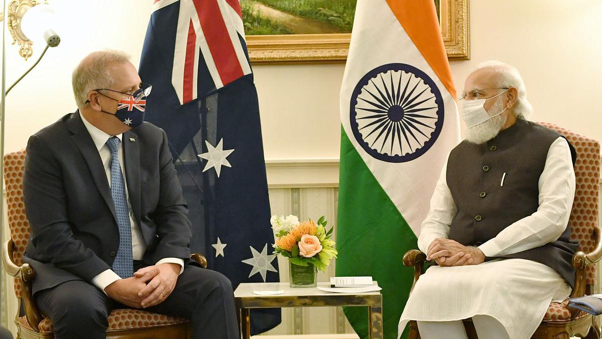 Modi, Morrison discuss defence partnership, bilateral ties