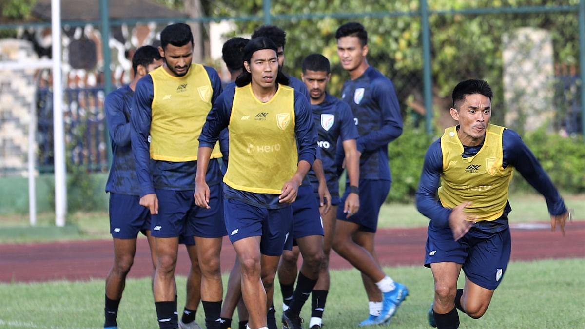 Indian football team lands in Maldives for SAFF Championship