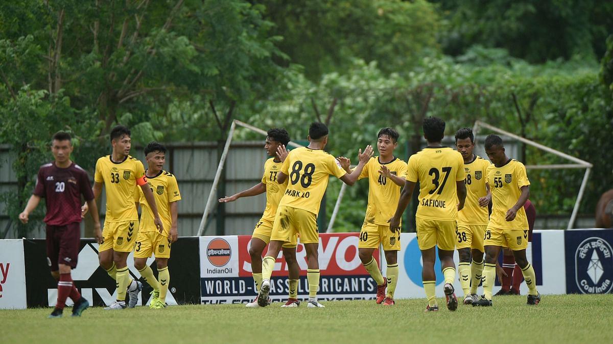 Football: Hyderabad thrash Assam Rifles 5-0, Gokulam Kerala held 2-2 by Army (Red)