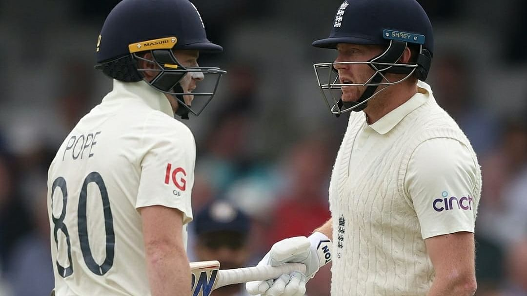 4th Test: Pope, Bairstow lead England's fightback