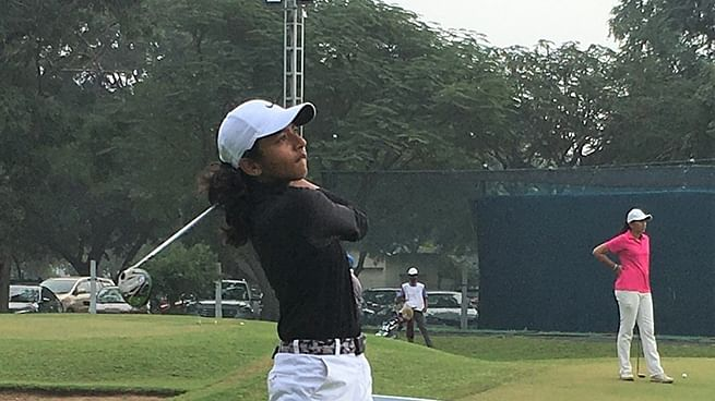 Amateurs hold sway as  Avani leads in the first round of 8th leg of Hero WPGT
