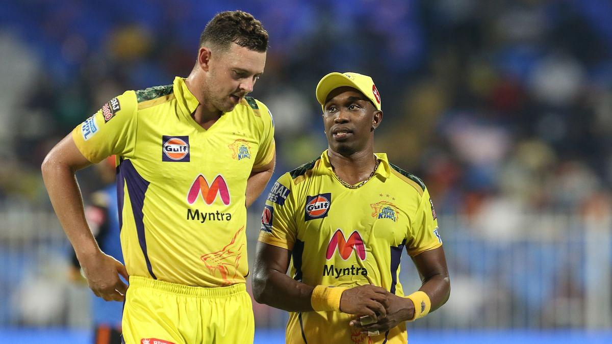IPL 2021: Hazlewood, Bravo impress in restricting Hyderabad to 134/7