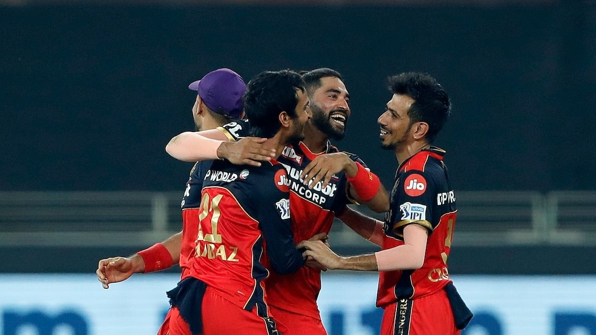 IPL 2021: Bangalore trigger post-powerplay collapse to restrict Rajasthan at 149/9