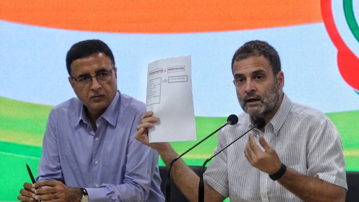 Economic policies have failed, situation at 1991 level: Rahul Gandhi