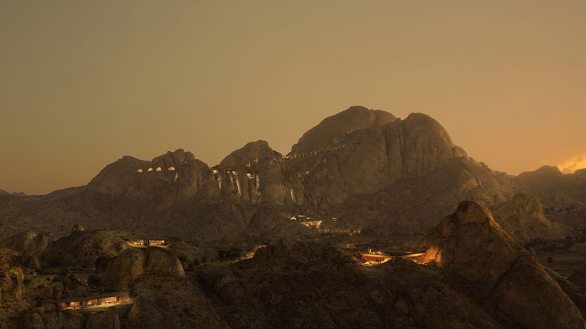 Red Sea Development Company unveils spectacular Desert Rock mountain resort in Saudi Arabia