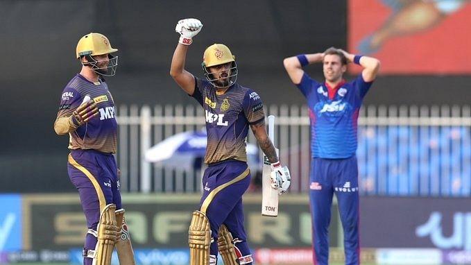 Narine, Rana help KKR prevail over Delhi, move to 10 points