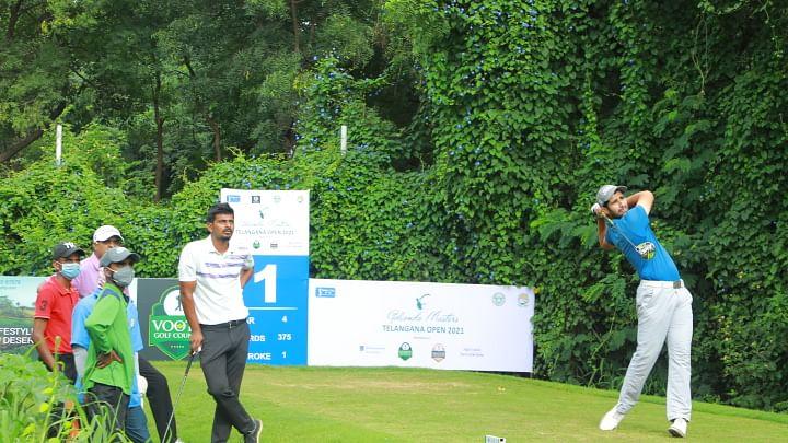 Pukhraj Gill, Manu Gandas hold joint first-round lead at Golconda Masters