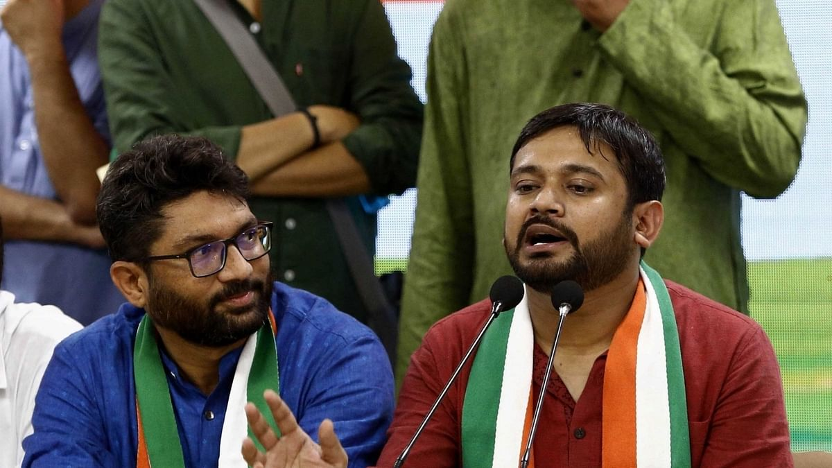 Need to save country's democracy, Kanhaiya says after joining Congress