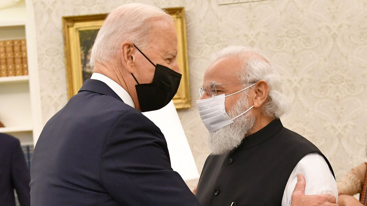 'Mr Prime Minister, we're going to continue to build on our strong partnership': Biden