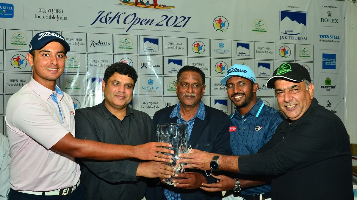 Top professional golfers for Rs 40-lakh J&K Open