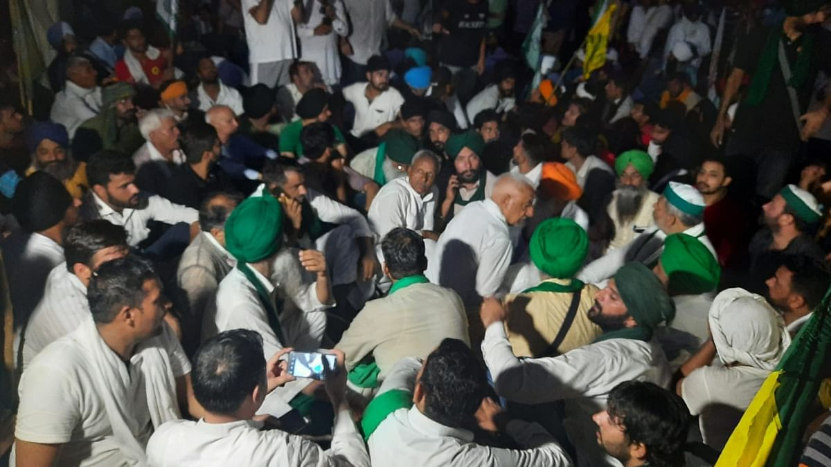Farmers' protest enters third day in Karnal